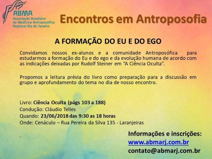 Flyer Encontros Em Antroposofia